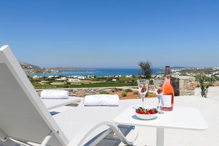 Deluxe Sea View White Villa
