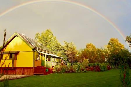 TY COED Eco Lodge - Rhayader - Haus