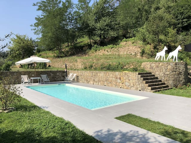 VILLA LIGURE4+2p Pool, A/C Free WiFi, BBQ 5 Terre