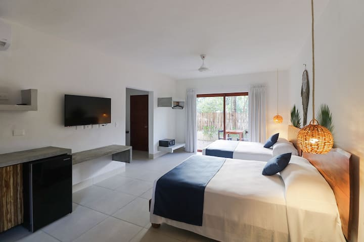 Niik Tulum ~ cozzy room in Aldea Zama 4PPL