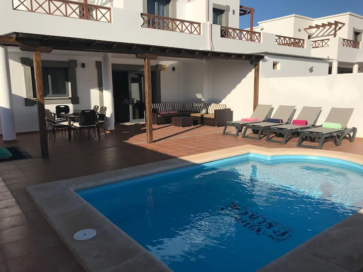 VILLA ESTACA LUXURY, Playa Blanca. Lanzarote.