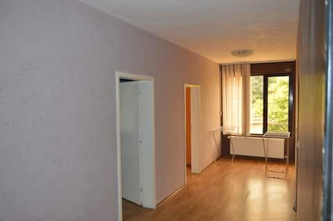 Затишна гарна квартира з 3 спальнями, вітальнею та кухнею