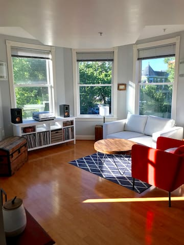 Bright apartment in Columbia Heights