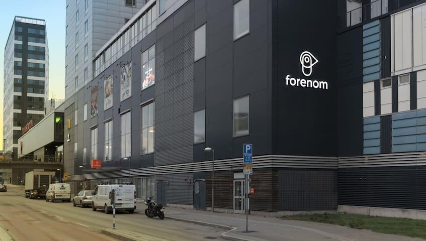 Studio apartment in Stockholm, Danmarksgatan 34-38
