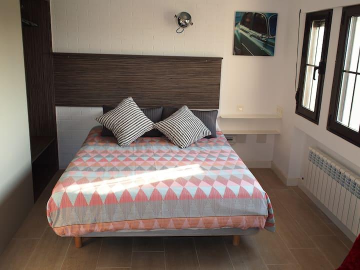 Apartamento en Boo de Piélagos - Patio - barbacoa