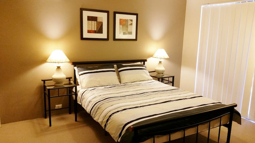 Master Bed Room with private patio - Leeming