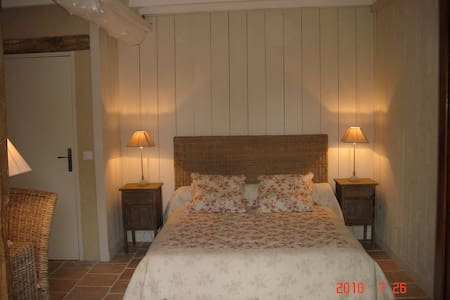 Lo Campestre Chambre Rez de jardin - Lavardens - ที่พักพร้อมอาหารเช้า