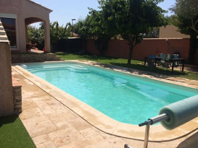 Villa de vacances avec piscine privee