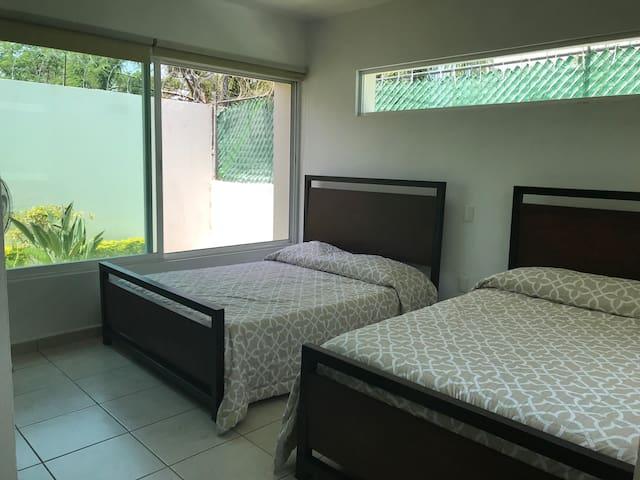 2da Habitación con 2 camas matrimoniales