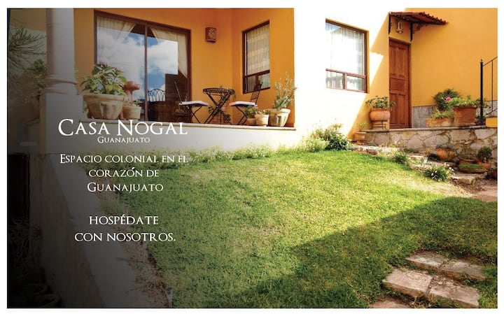 Casa Nogal Guanajuato, totally furnished house