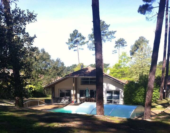 Large Villa near Golf course, beach & forest