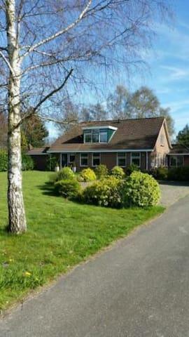 Zeer luxe vakantiewoning 2-10 pers. - Nieuwe Pekela - House