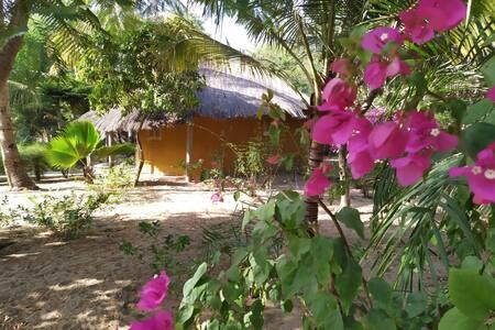 Cabañas en el paraíso en Abene Casamance