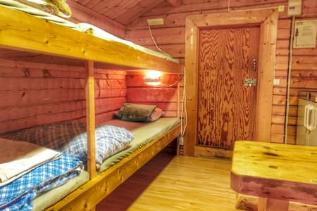 12M2   Wooden   cabin with 4 beds   for  rent