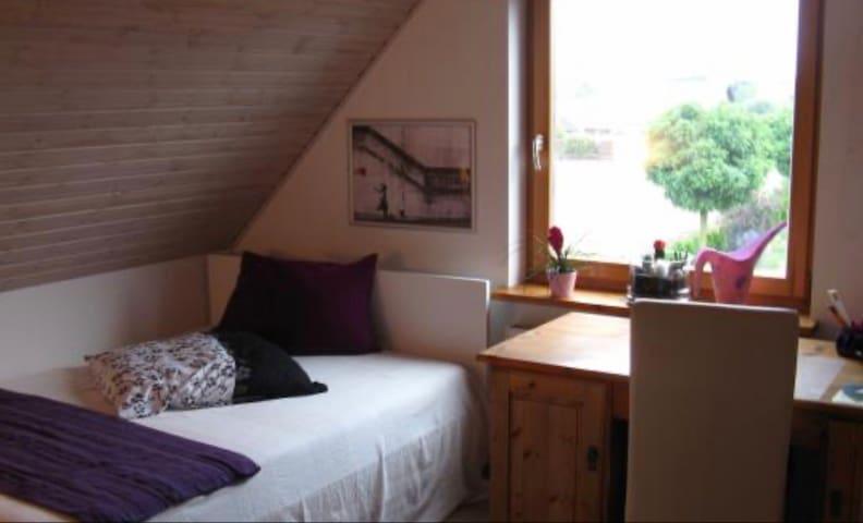Gemütliches ruhiges Zimmer für 2 nahe BS und WF