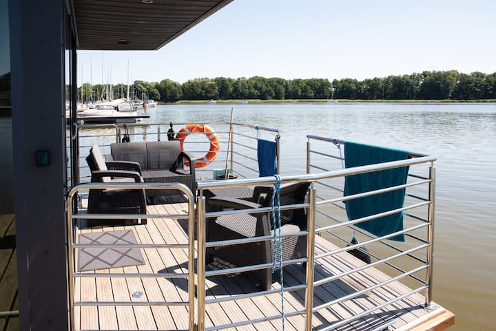 Logement insolite HOUSEBOAT EXPERIENCE