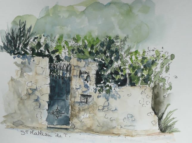 Charming house in typical village in Languedoc