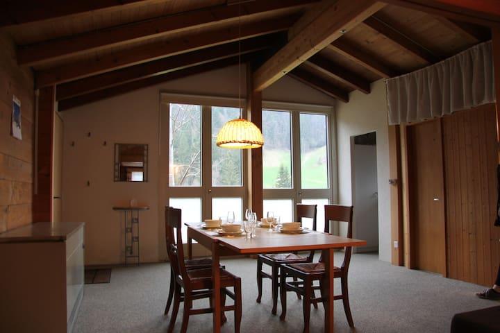charmante Ferienwohnung an der Marbachegg - Marbach - Byt