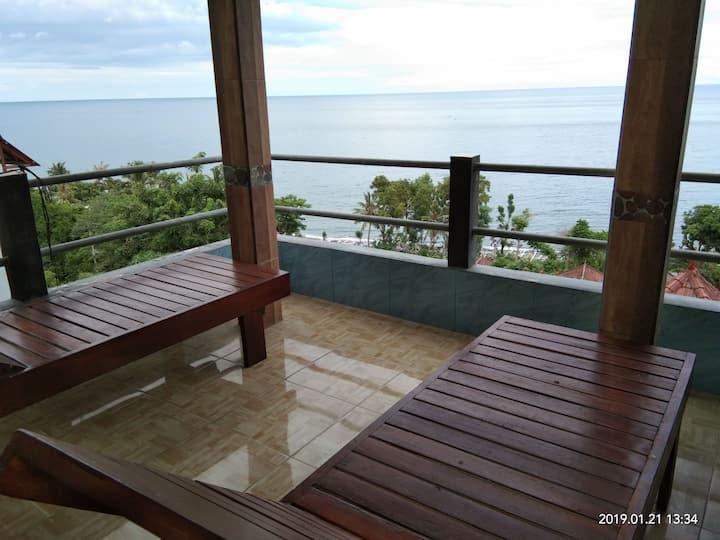 BUKIT INDAH HOMESTAY #6 (full sea views with AC)