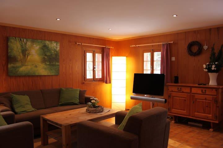 Wohnzimmer mit B&O TV