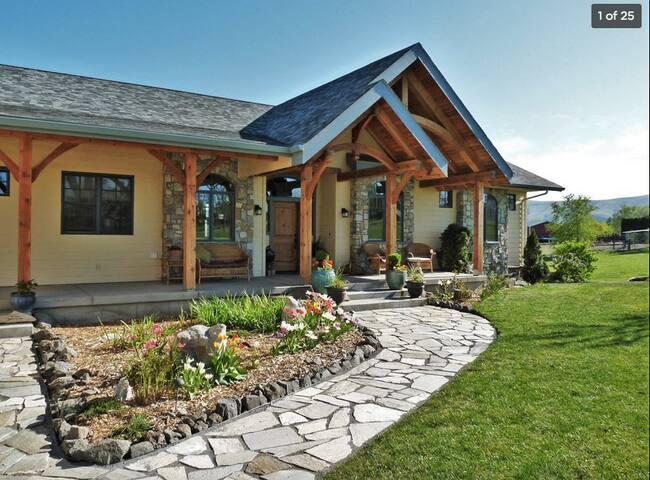 Luxurious Red Mountain Country Home - Benton City