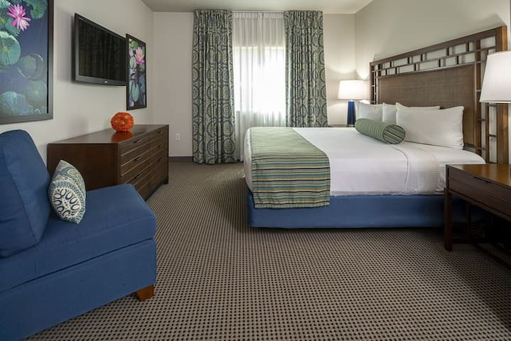 1-BR with king size bed