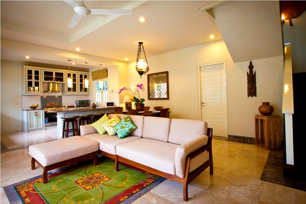 Villa Maya Living Room