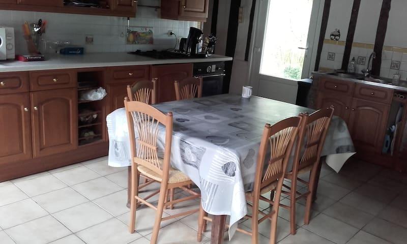 espace cuisine partagé