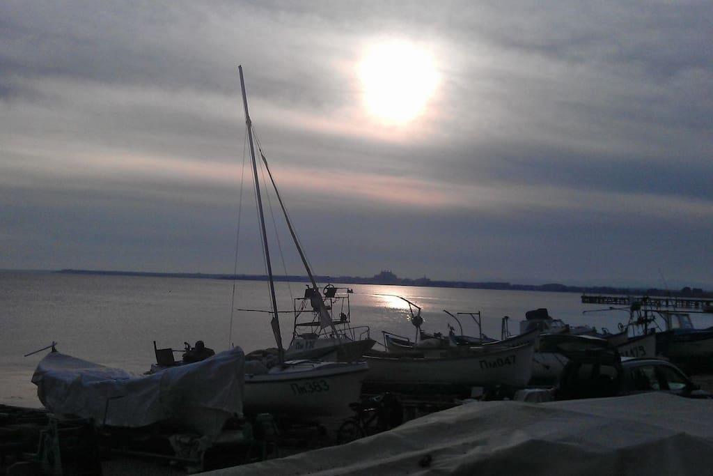 Sunrise, Pomorie