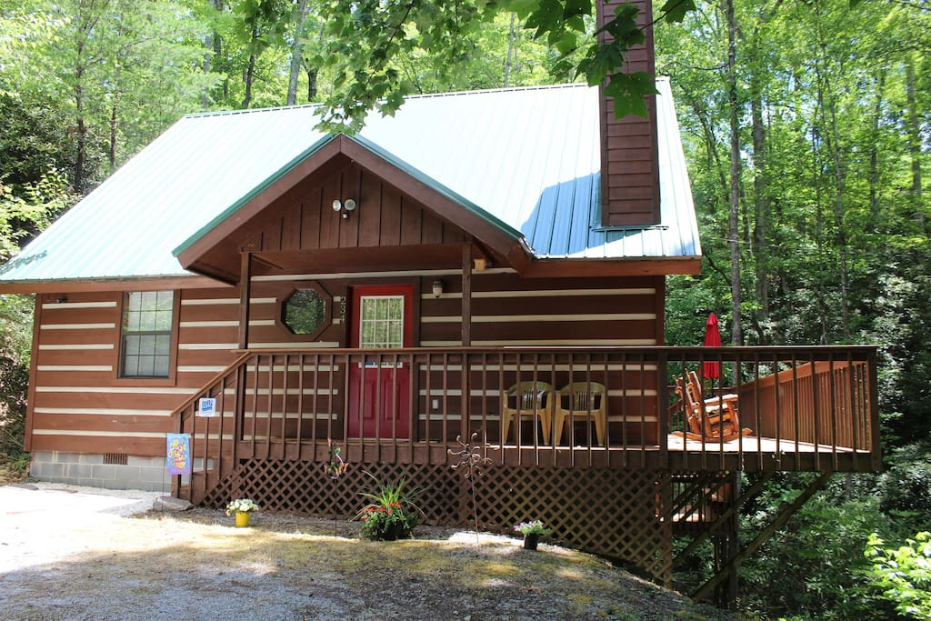 heaven hill hideaway cabins for rent in gatlinburg