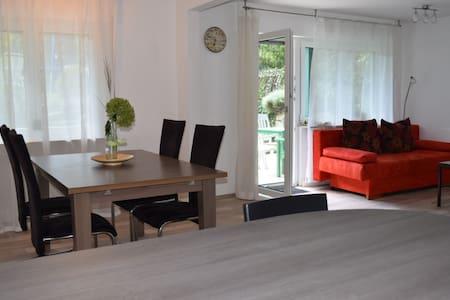 Wohnung 2,5 Zi. mit Terrasse ideal für Pendler - Winnenden - Apartament