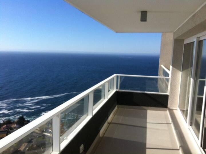 Costa Horizonte II, Excelente Vista al mar