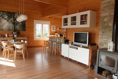Wooden House with views 15km from Barcelona - Molins de Rei - Talo