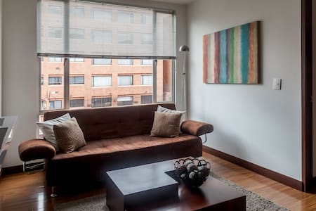Small apartment very well furnished - Bogotá