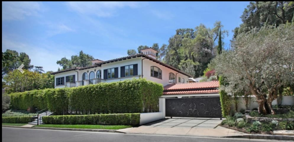 Tower Road Beverly Hills designer mansion