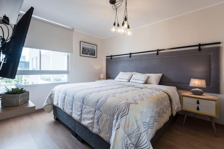 Stylish sparkling 1bedroom flat - Barranco