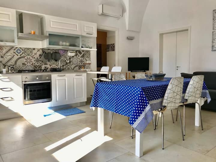 Apartment furnished with style in Salento