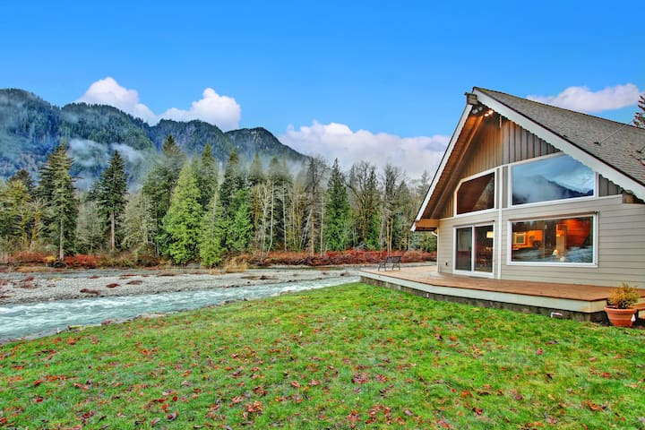 Sky River's Edge - The Cascades at Your Doorstep! - Gold Bar - Srub