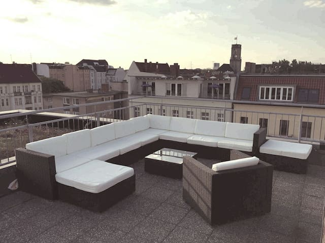 Rooftop Apartment with amazing View, Top Location! - Berlin - Apartment