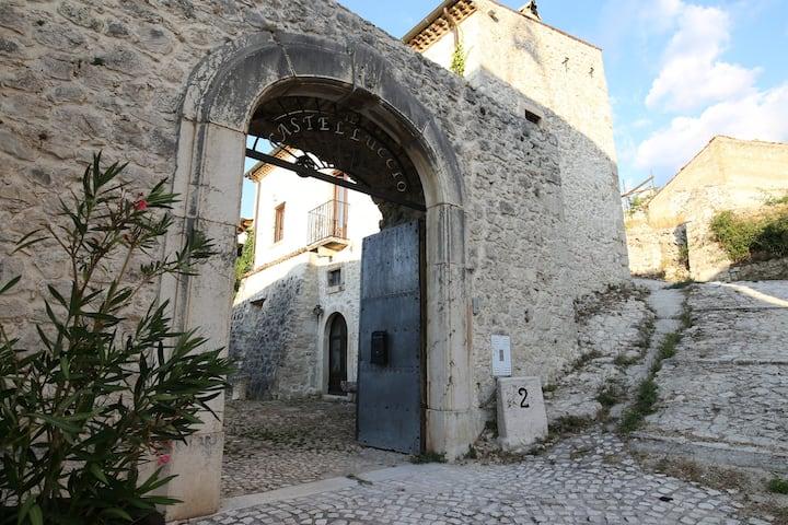 """Restored former small castle, """"IL CASTELLUCCIO"""""""