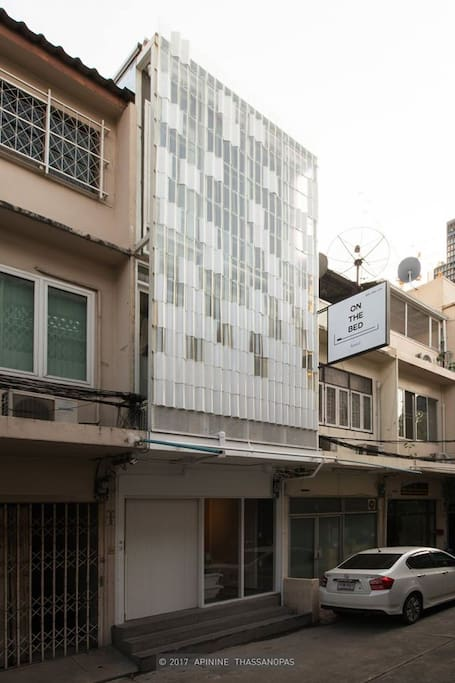 Easy to find, 200 meters walk from Sukhumvit Soi 1, On the bed at left hand side.