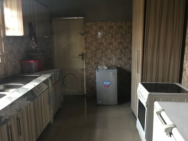 Fully furnished kitchen and various fridges to preserve your food.