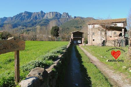 Can Riera_Casa Rural_Roques Encantades - La Garrotxa