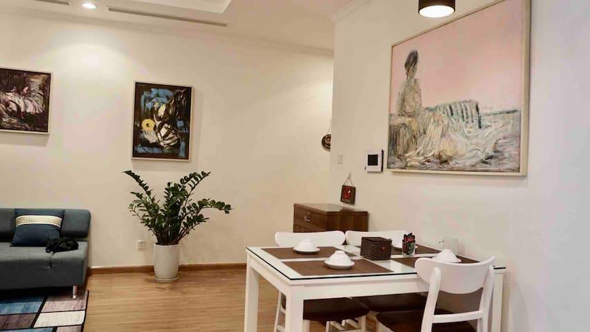 ANNIE ART HOUSE PARK HILL 1BR COZY HANOI CENTER ❤️