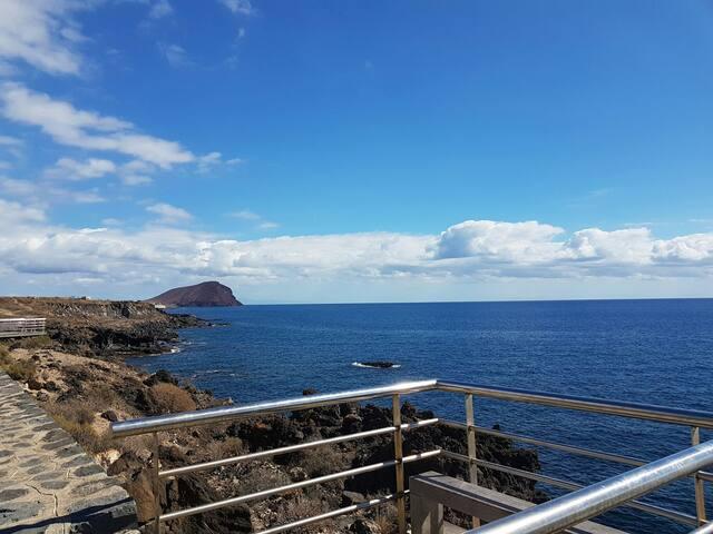 A 2 min caminando de la playa Coqueto apartamento - Los Abrigos - Apartmen
