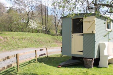 Shepherds Hut next to Pub - Michaelchurch Escley