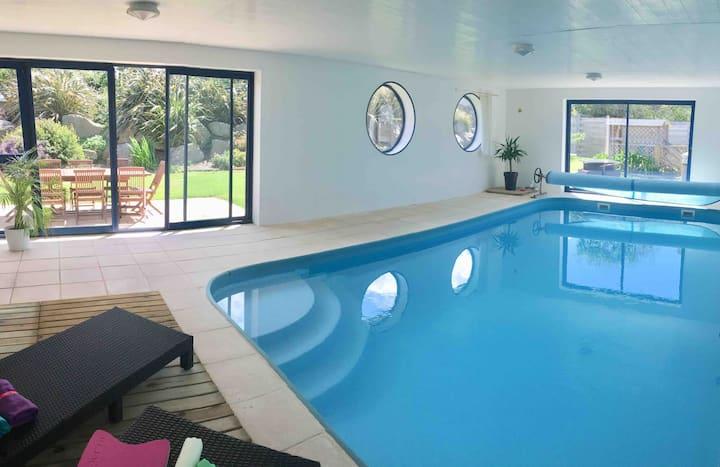 Villa 4* SPA / piscine  privée à 200m de la mer