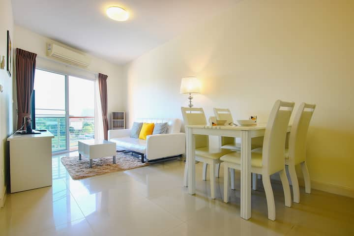 Appartement Hua Hin-5min Plage & Centre Commercial