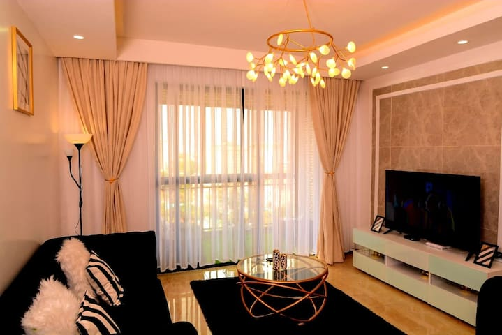 Stylish luxe 2BR apt in Kilimani,yaya Centre 🏠