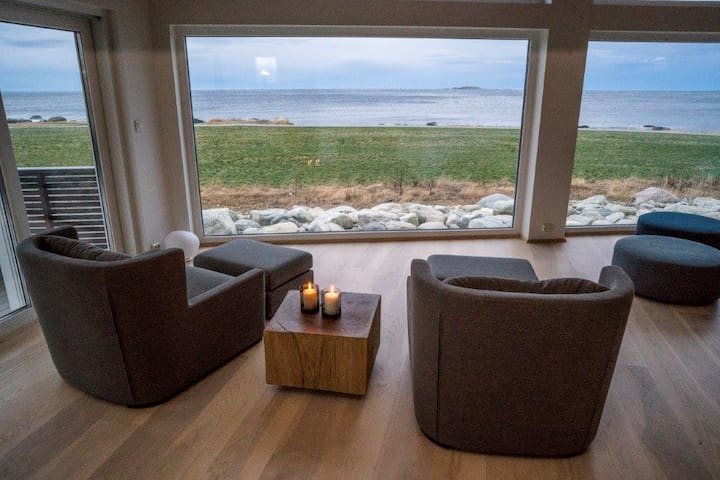 Privat house, exclusive, ocean view - Alnes - Huis